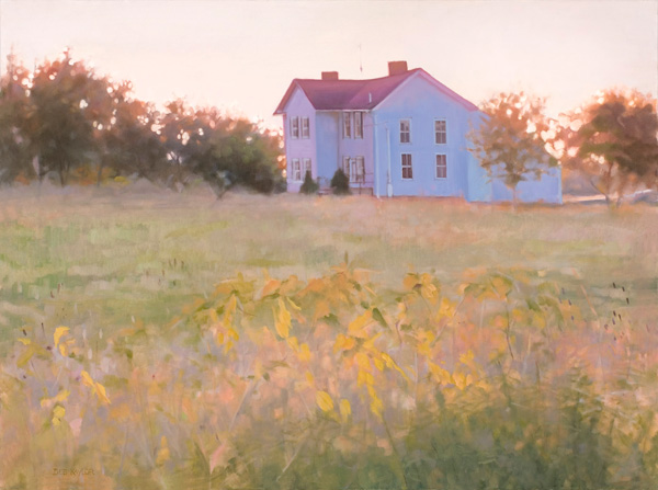 Deb Kaylor, A Magic Moment, oil, 30 x 40.