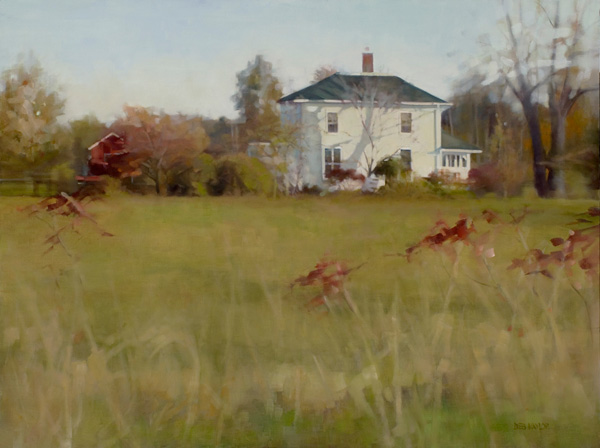 Deb Kaylor, Bent Oak Farm, oil, 30 x 40.