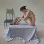 Andrea T. Kemp, Still, oil, 33 x 40.