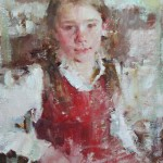 Carolyn Anderson   Kenna, oil, 14 x 11.