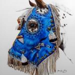 Kenna Al Sayed, I Am the Night, color pencil, 16 x 20.