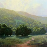 Kevin Courter, In the Light of Grace, oil, 24 x 30.