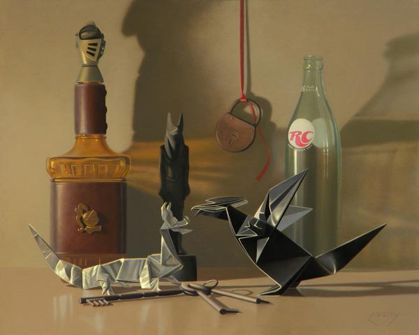 Daniel Mark Cassity, Keys to the Kingdom, oil, 16 x 20.