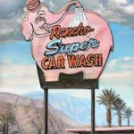 Jason Kowalski, Rancho Super Car Wash, oil, 72 x 46.