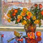 Lyuba Titovets, The Light, oil, 20 x 24.