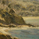 Dan Young, Laguna Surf, oil, 10 x 12.