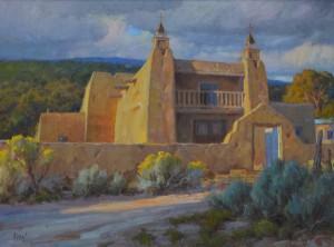 Chris Morel, Las Trampas, oil, 30 x 40.