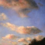 Julio Reyes | Last Memory of the Day, oil, 23 x 46.