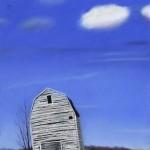 Kathy Beekman, Lean'n, pastel, 30 x 20.
