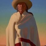 Logan Maxwell Hagege, A Stranger's Land, oil, 30 x 20.