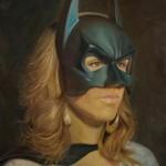 Shana Levenson, Masked, oil, 24 x 18.
