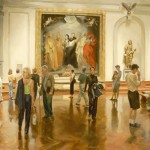 Marvels of the Museum, oil, 36 x 48.