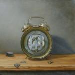 Holly Mathews, Temporal, oil, 12 x 12.