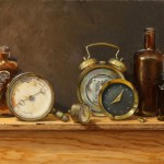 Holly Mathews, Temporal 2, oil,16 x 20.