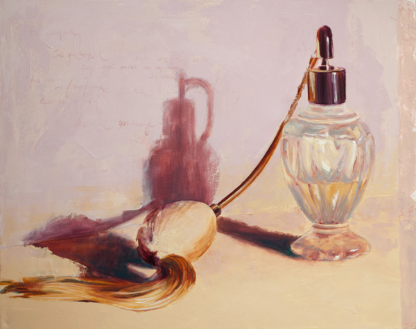 Melissa Small, Spritz of Endearment, oil, 24 x 30.