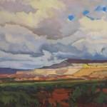 Meridee Mandio, Shadows and Light, oil, 16 x 20.