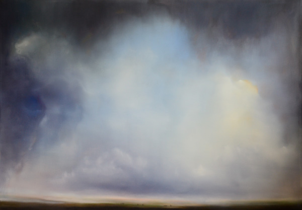 Matthew Metzger, Clouds; Atmosphere; Time; oil painting