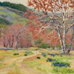 Michele Hausman, Breath of Spring, oil, 24 x 30.