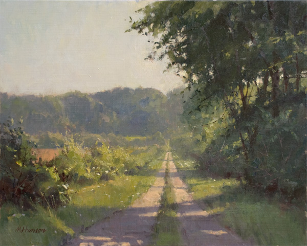 Marc Hanson, Monday Morning, oil, 16 x 20.