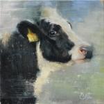 Elizabeth Pollie, More Than No. 18, oil, 8 x 8.