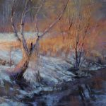 Barbara Jaenicke, Enchanted Evening, pastel, 16 x 20.