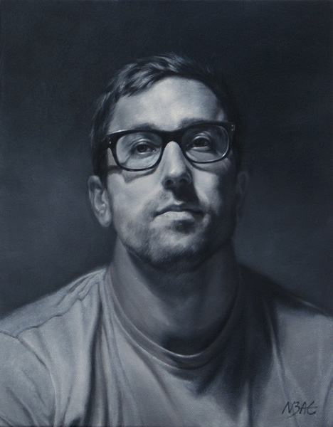 Najin Bae, Matt, oil, 11 x 14.