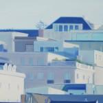 Najin Bae, San Francisco Cityscape, oil, 11 x 14.