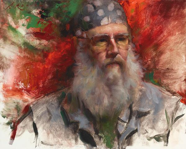 Nathaniel Skousen, Perry, oil, 16 x 20.