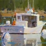 Colin Page, Nautilus, oil, 12 x 16.
