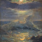 Gordon Brown, Night Wave, oil, 24 x 24.