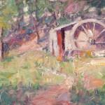 Dan Beck, Old Mill, oil, 12 x 18.