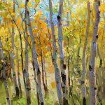 Gregory Packard, Autumn Resonance, oil, 24 x 18.