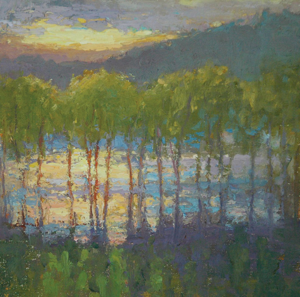 Kyle Paliotto, Fresh Palette, oil, 10 x 10.