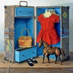 Pamela Carroll , Clothes Horse, oil, 18 x 24.