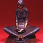 Shirley Thomson-Smith, Peace, bronze, h29.