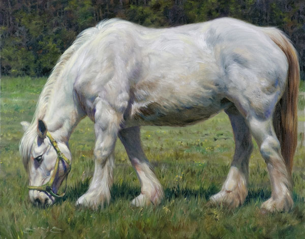 William Suys, Pearl, oil, 24 x 30.