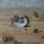 Matthew Saba, Pelican, oil, 40 x 48.