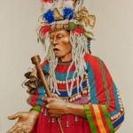 Paul Pletka, Nataos, acrylic, 54 x 42.