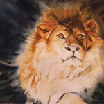 Sandi Lear, Pride, watercolor, 18 x 24.