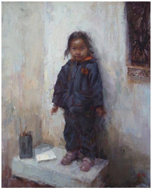 Zoucheng Girl by Barry John Raybould