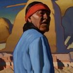 Logan Maxwell Hagege, Redemption, oil, 40 x 32.