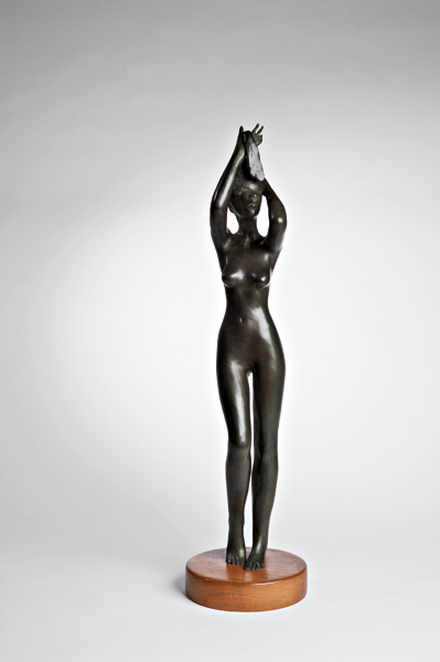 Michael Naranjo, Reflections, bronze sculpture