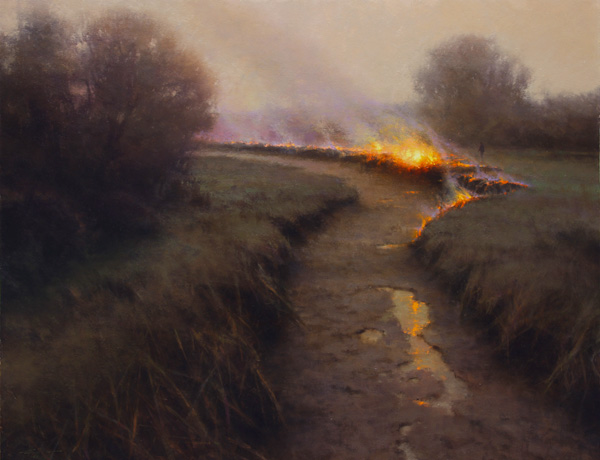 Brent Cotton, Rite of Spring, oil painting