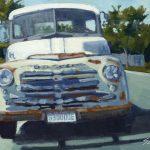 Anthony Salvo, '53 Dodge, oil, 8 x 10.