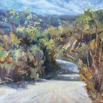 Anthony Salvo, Laguna Wilderness Park Pathway, oil, 11 x 14.
