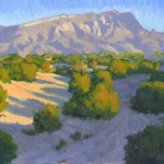 Lee MacLeod, Sandia Shadows, oil, 11 x 14.