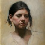 Jennifer Gennari, Sarah, oil, 19 x 22.