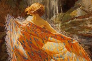 Sergio Lopez, Elanis, oil, 20 x 30.