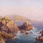 Sergio Roffo, Sublime Beauty, Point Lobos Reserve, CA, oil, 24 x 36.