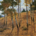 Frank Serrano, Aspen Grove | Oil Plein-Air Painter